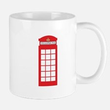Telephone Box Mugs