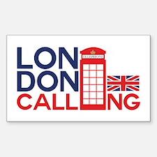 London Calling Decal