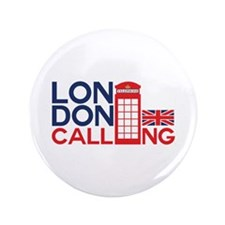 """London Calling 3.5"""" Button (100 pack)"""