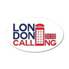 London Calling Wall Decal