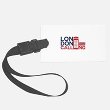 London Calling Luggage Tag