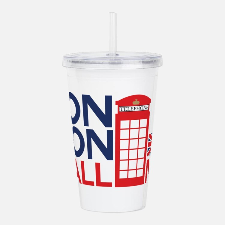 London Calling Acrylic Double-wall Tumbler