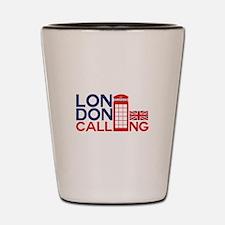 London Calling Shot Glass