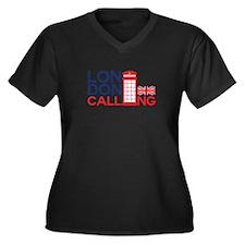 London Calling Plus Size T-Shirt