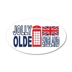 Jolly Olde England Wall Decal