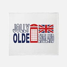 Jolly Olde England Throw Blanket