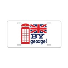 By George! Aluminum License Plate