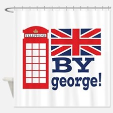 By George! Shower Curtain