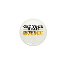 Get Your Head In The Game Mini Button (10 pack)