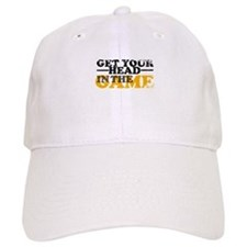 Get Your Head In The Game Baseball Baseball Cap