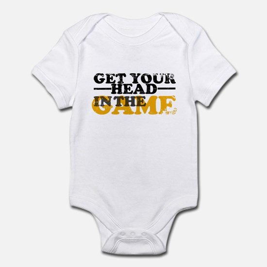 Get Your Head In The Game Infant Bodysuit