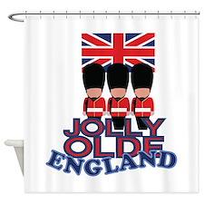 Jolly Olde England Shower Curtain