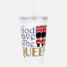 God Save The Queen Acrylic Double-wall Tumbler