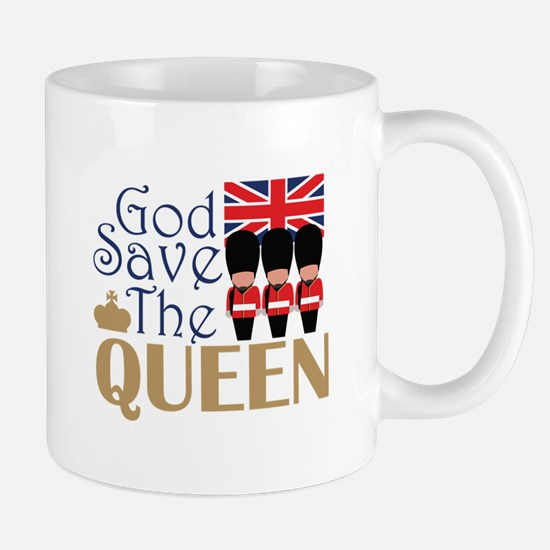 God Save The Queen Mugs