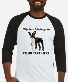 Personalized Boston Terrier Baseball Jersey