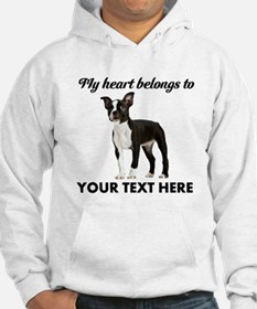 Personalized Boston Terrier Hoodie