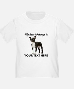 Personalized Boston Terrier T