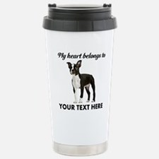 Personalized Boston Ter Travel Mug