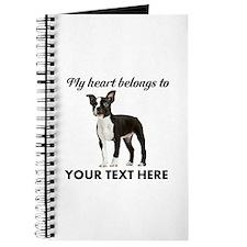 Personalized Boston Terrier Journal