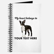 Personalized Boston Terrier Journal
