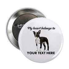 Personalized Boston Terrier 2.25