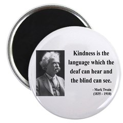 "Mark Twain 31 2.25"" Magnet (10 pack)"
