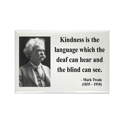 Mark Twain 31 Rectangle Magnet (10 pack)