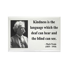 Mark Twain 31 Rectangle Magnet