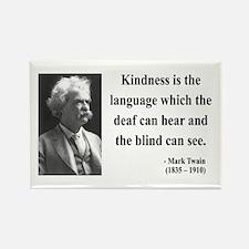 Mark Twain 31 Rectangle Magnet