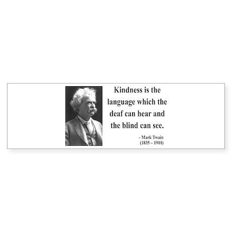 Mark Twain 31 Bumper Sticker