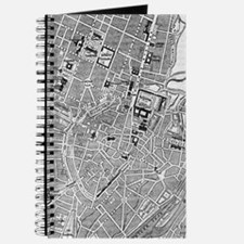 Vintage Map of Munich Germany (1884) Journal