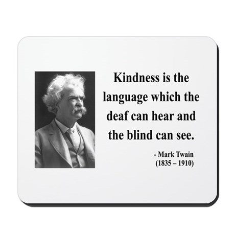 Mark Twain 31 Mousepad