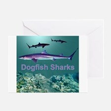 Dogfish Sharks - Greeting Card