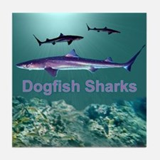 Dogfish Sharks - Tile Coaster