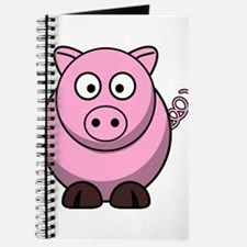 Chubby pink pig Journal