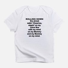 BABY - ROLLING DOWN THE STREET Infant T-Shirt