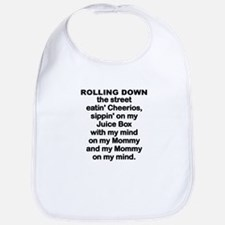 BABY - ROLLING DOWN THE STREET Bib