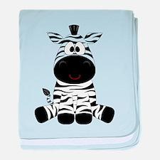 Cute Little Zebra baby blanket