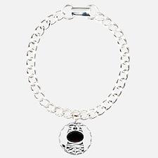 Cute Little Zebra Charm Bracelet, One Charm
