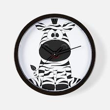 Cute Little Zebra Wall Clock