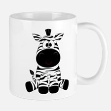 Cute Little Zebra Mugs