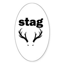 stag party do doo Decal