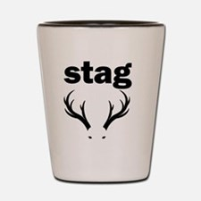 stag party do doo Shot Glass