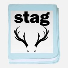 stag party do doo baby blanket