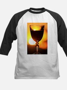 Red Wine and a Sunset Baseball Jersey
