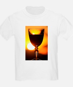 Red Wine and a Sunset T-Shirt