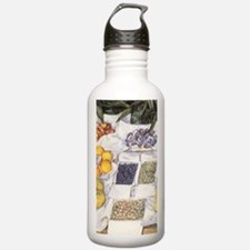 Fruit Stand by Gustave Water Bottle