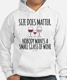 Wine Size Does Matter Hoodie