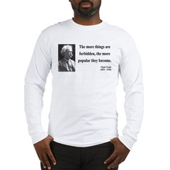 Mark Twain 32 Long Sleeve T-Shirt