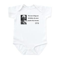Mark Twain 32 Infant Bodysuit